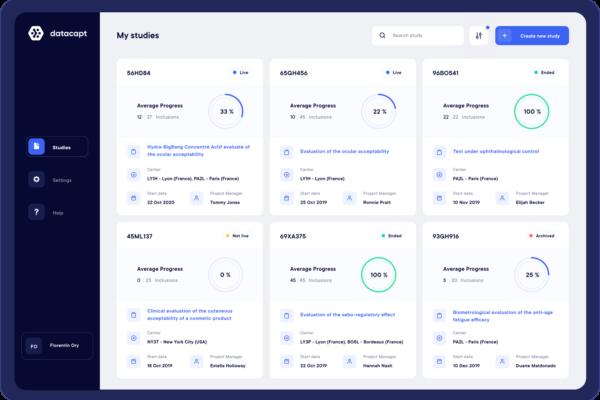 datacapt-studies-dashboard